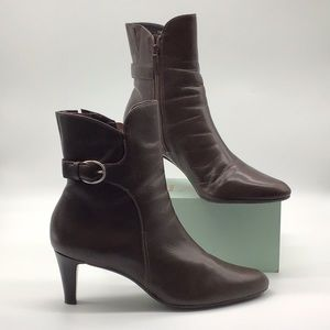 Talbots made in Brazil Ankle Heeled Boots